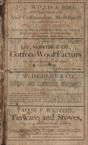 Heller's Galveston Directory, 1878-1879