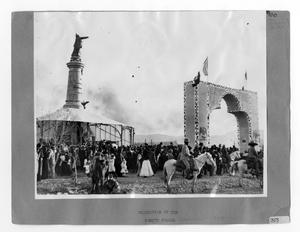 Primary view of object titled '[Dedication Of The Monument]'.