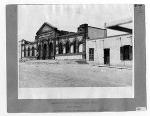 Primary view of object titled '[Post Office in Juarez, Mexico]'.