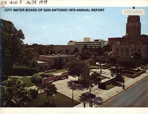 San Antonio City Water Board Annual Report 1979 The
