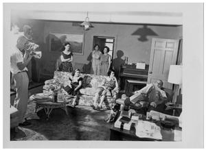 Primary view of object titled '[Filming the Johnson Family]'.