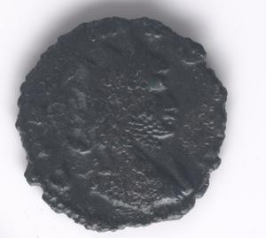 Primary view of object titled 'Imperial Antoninianus coin of Gallienus'.