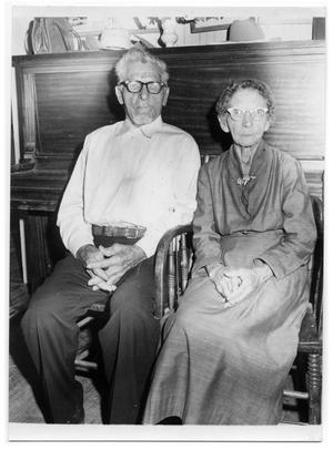 Primary view of object titled '[Otto Lindig and His Sister]'.