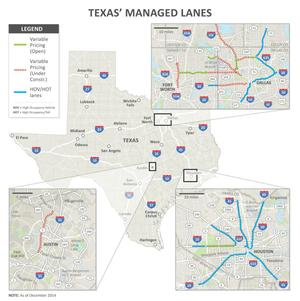 Primary view of object titled 'Texas' Managed Lanes'.