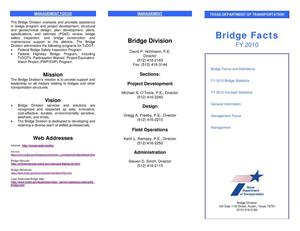Primary view of object titled 'Bridge Facts'.