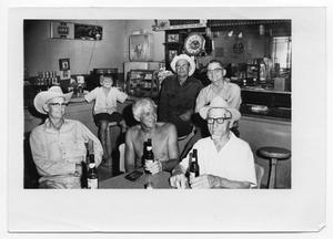 Primary view of object titled '[Otto Lindig and Others in a Bar]'.