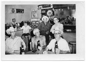 [Otto Lindig and Others in a Bar]
