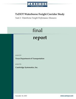 Primary view of object titled 'TxDOT Waterborne Freight Corridor Study'.