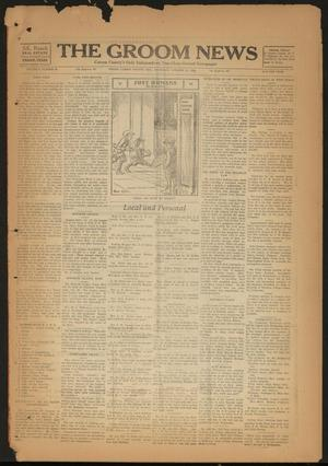 Primary view of object titled 'The Groom News (Groom, Tex.), Vol. 3, No. 33, Ed. 1 Thursday, October 25, 1928'.