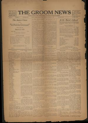 Primary view of object titled 'The Groom News (Groom, Tex.), Vol. 4, No. 2, Ed. 1 Thursday, March 21, 1929'.