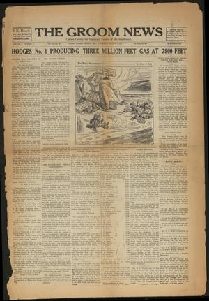 Primary view of object titled 'The Groom News (Groom, Tex.), Vol. 4, No. 21, Ed. 1 Thursday, August 1, 1929'.