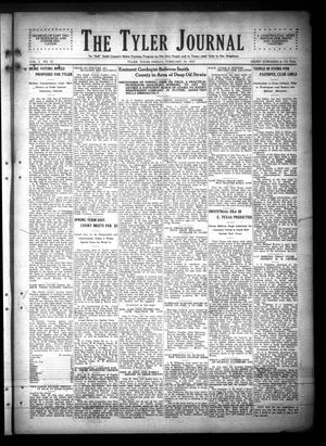 Primary view of object titled 'The Tyler Journal (Tyler, Tex.), Vol. 2, No. 42, Ed. 1 Friday, February 18, 1927'.