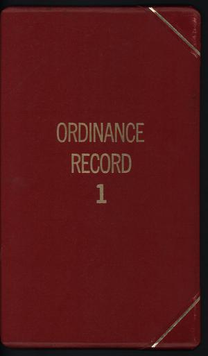 [Abilene City Ordinances: 1980-1982]