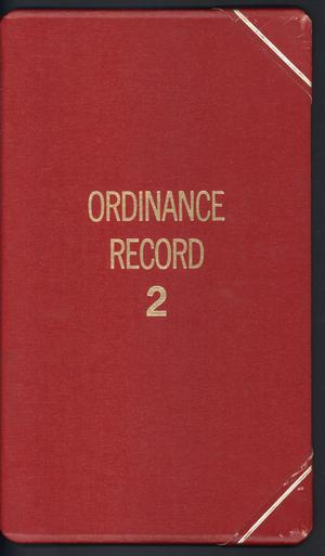 [Abilene City Ordinances: 1982]