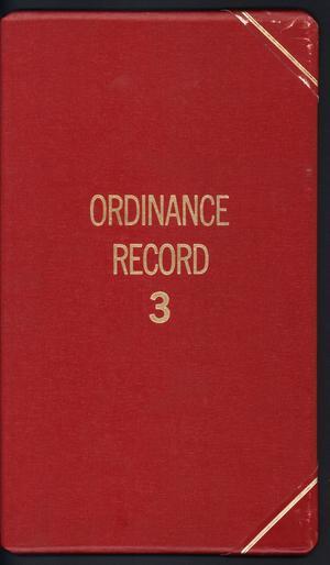 [Abilene City Ordinances: 1983]