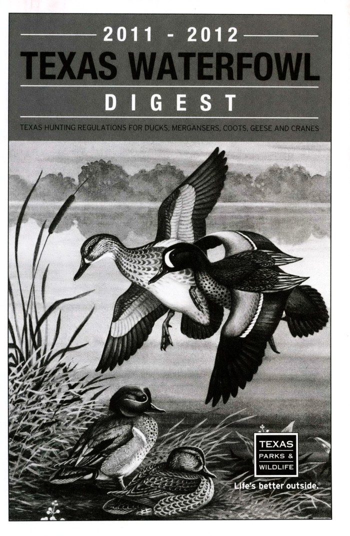 Texas waterfowl digest texas hunting regulations for ducks primary view of object titled texas waterfowl digest texas hunting regulations for ducks sciox Choice Image