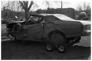 Primary view of object titled '[Wrecked Car]'.