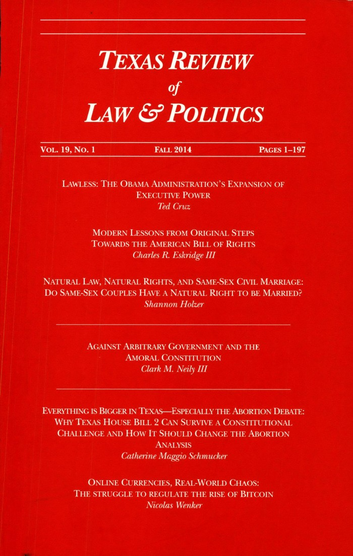Natural law same sex marriage and the politics