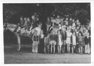 [1940 First Grade class from Jane Long Elementary School]