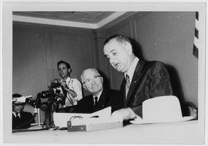 Primary view of object titled '[Harry S. Truman and Lyndon Johnson]'.