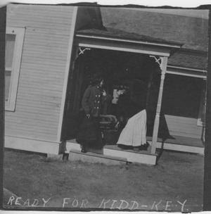Primary view of object titled '[Photograph of Send-Off to Kidd-Key]'.