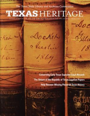Texas Heritage, 2013, Volume 2