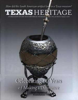 Primary view of object titled 'Texas Heritage, 2013, Volume 4'.