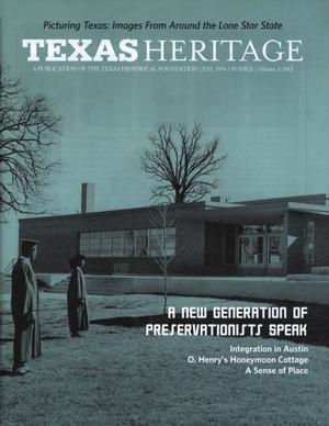 Texas Heritage, 2013, Volume 3