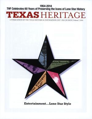 Texas Heritage, 2014, Volume 1