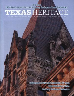 Primary view of object titled 'Texas Heritage, 2014, Volume 4'.