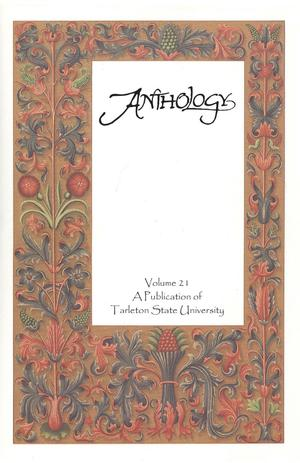 Primary view of object titled 'Anthology, Volume 21, Spring 2015'.