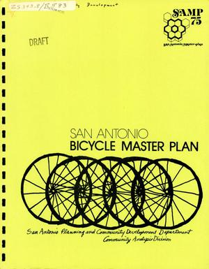 Primary view of object titled 'San Antonio Bicycle Master Plan'.