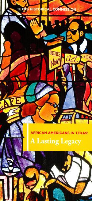 Primary view of object titled 'African Americans in Texas: A Lasting Legacy'.