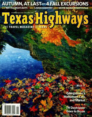 Primary view of object titled 'Texas Highways, Volume 58, Number 11, November 2011'.