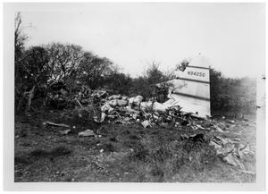 Primary view of object titled '[Wreckage of an Airplane]'.
