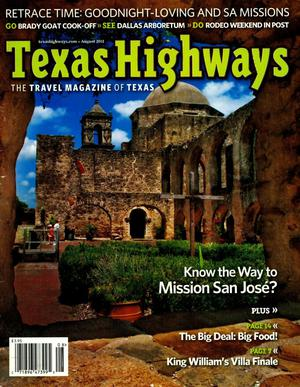 Primary view of object titled 'Texas Highways, Volume 58, Number 8, August 2011'.