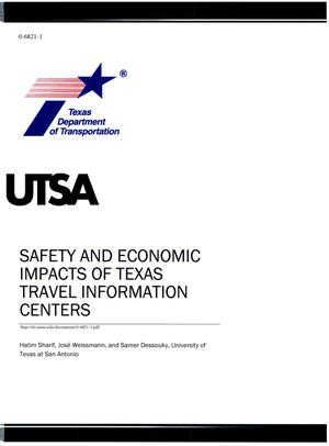 Primary view of object titled 'Safety and Economic Impacts of Texas Travel Information Centers'.