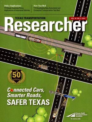 Primary view of object titled 'Texas Transportation Researcher, Volume 50, Number 2, 2014'.