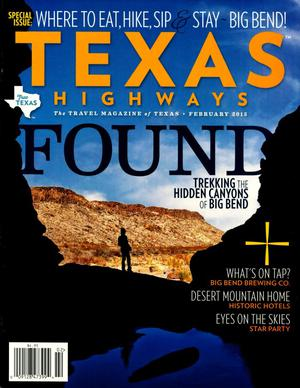 Primary view of object titled 'Texas Highways, Volume 62, Number 2, February 2015'.