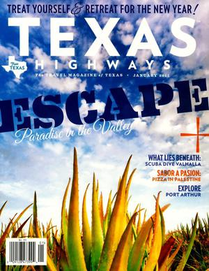 Primary view of object titled 'Texas Highways, Volume 62, Number 1, January 2015'.