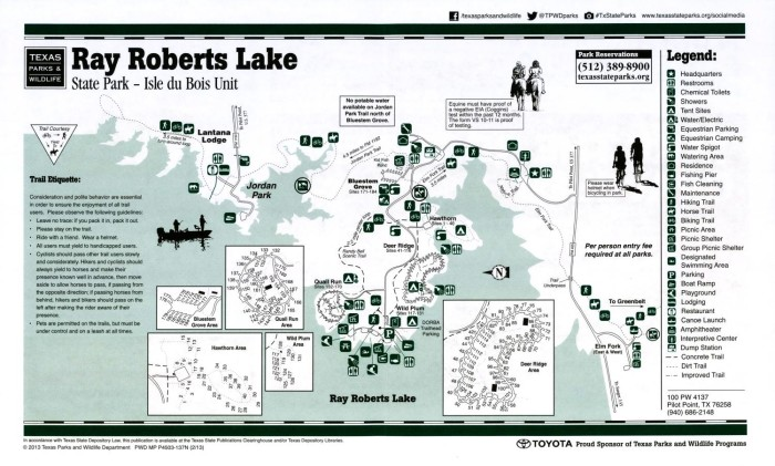 Ray Roberts Lake State Park - Isle duBois Unit - The Portal to Texas on haw river state park map, south mountains state park map, oxford state park map, muskegon state park map, hamburg state park map, west branch state park map, rifle river state park map, south dakota state park map, porcupine state park map, highland state park map, chain of lakes state park map, holly state park map, crawford notch state park map, columbia state park map, bay city state park map, temperance state park map, webster state park map, sterling forest state park map, milton state park map, wilson state park map,