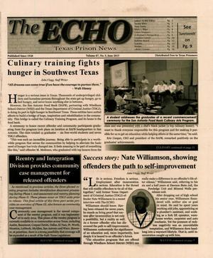 Primary view of object titled 'The ECHO, Volume 87, Number 5, June 2015'.