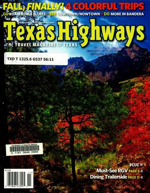 Primary view of object titled 'Texas Highways, Volume 56, Number 11, November 2009'.