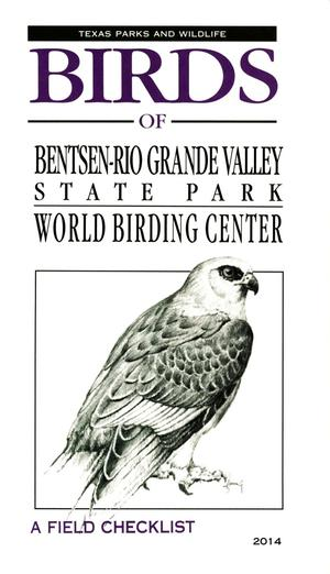 Primary view of object titled 'Birds of Bentsen-Rio Grande Valley State Park: A Field Checklist'.