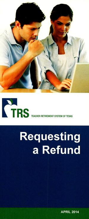 Primary view of object titled 'Requesting a Refund'.