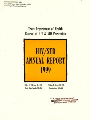 Primary view of object titled 'Texas Department of Health Bureau of HIV & STD Prevention Annual Report: 1999'.