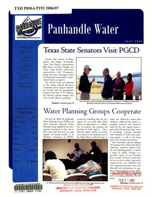 Primary view of object titled 'Panhandle Water News, July 2006'.
