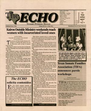Primary view of object titled 'The ECHO, Volume 86, Number 4, May 2014'.