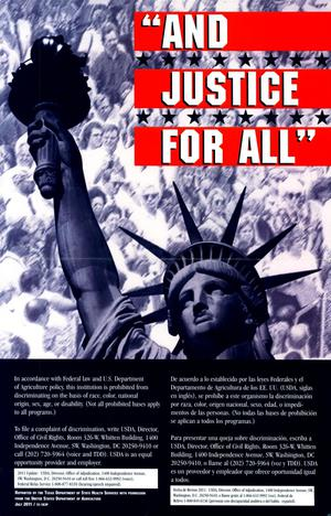"Primary view of object titled '""And Justice For All""'."