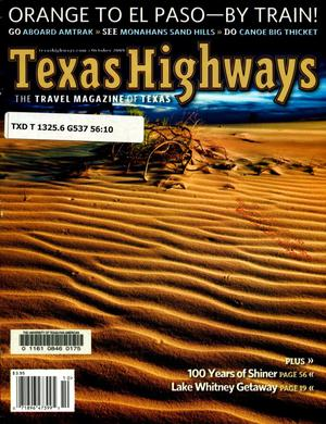 Primary view of object titled 'Texas Highways, Volume 56, Number 10, October 2009'.
